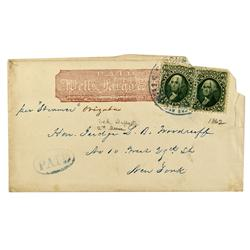CA - San Francisco,1862 - California Gold Rush Cover - Clint Maish Collection
