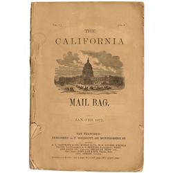 CA - San Francisco,1878 - California Mail Bag Journal