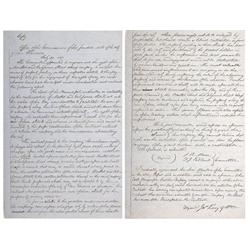 CA - San Francisco,1851 - Gold Rush Contract - San Francsico Commission of the Funded Debt Document
