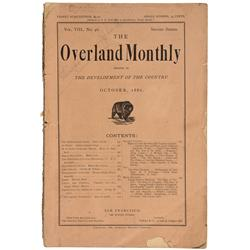 CA - San Francisco,1886 - Overland Monthly Journal