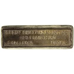 CA - San Franciso,c 1905-1957 - Selby Smelting & Lead Co., Lead Ingot