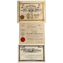 CO - Aspen,Pitkin County - 1895-1914 - Pitkin County Stock Certificate Group - Fenske Collection