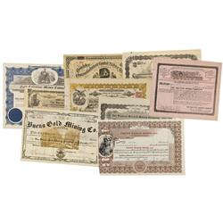 CO - Boulder,Boulder County - 1880-1956 - Boulder Colorado Mining Stocks Grab Bag