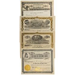 CO - Boulder,Boulder County - 1898 -1914 - Grand Island Mining District Stocks