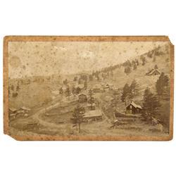 CO - Boulder County,c1870 - Sunshine, Colorado Photo - Mueller Collection