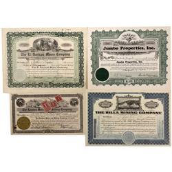 CO - Breckenridge,Summit County - 1908-1943 - Breckenridge Stock Certificate Grouping - Fenske Colle