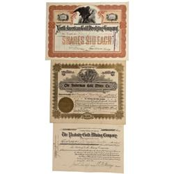 CO - Breckenridge,Summit County - 1898-1906 - Summit County Stock Certificate Group - Fenske Collect