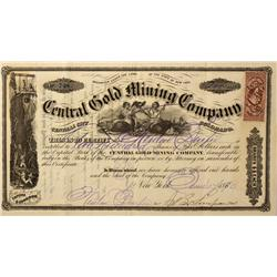 CO - Central City,1870 - Central Gold Mining Co.