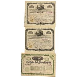 CO - Cripple Creek,Teller County - 1893-1900 - Orphan Mining Stock Certificates