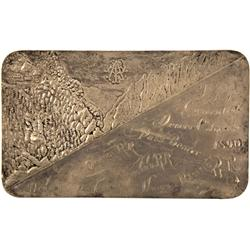 CO - Denver,1890 - Silver Ingot Rail Road Pass from the Traveler's Protective Association