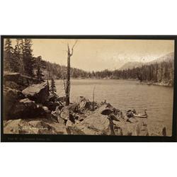 CO - Georgetown,Clear Creek County - c1885 - Green Lake Photograph