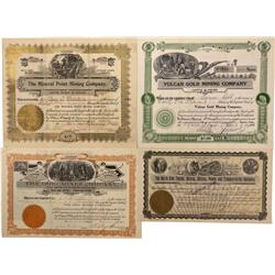 CO - Gunnison County,1900-1909 - Gunnison County Stock Certificate Group