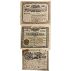 CO - Hinsdale County,1898-1914 - Hinsdale County Stock Certificate Group