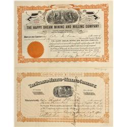 CO - Idaho Springs,Clear Creek County - 1901, 1907 - Idaho Springs Stock Group