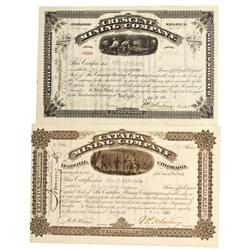 CO - Leadville,Lake County - 1884, 1903 - Leadville Mining District Stock Group
