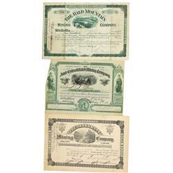 CO - Leadville,Lake County - 1881-1887 - Leadville Mining Stock Group