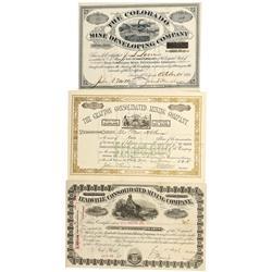CO - Leadville,Lake County - 1880-1901 - Leadville, Fryer Hill Stock Group