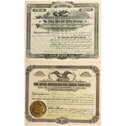 CO - Ophir,San Miguel County - 1897, 1903 - Ophir Mining Stock Certificate Group