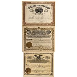 CO - Ouray,1887-1906 - Ouray Mining Stock Certificate Group - Fenske Collection
