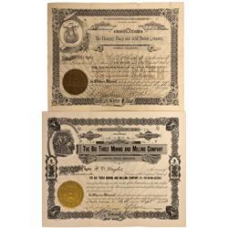 CO - Pueblo,Pueblo County - 1900, 1918 - Pueblo County Stock Certificate Group - Fenske Collection