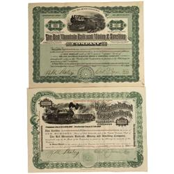 CO - Red Mountain,Ouray County - 1910 - Red Mountain Railroad Mining and Smelting Company Stock Cert