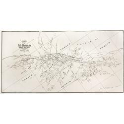 CO - Red Mountain,Ouray County - 1891 - Townsite Map of the Red Mountain Mining District