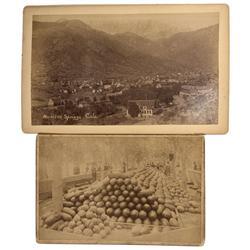 CO - Rocky Ford & Manitou Springs,Otero & El Paso Counties - 1894 - Colorado Photographs - Mueller C
