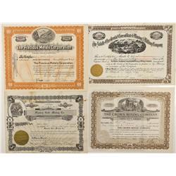 CO - San Juan County,1903-1938 - San Juan County Stock Certificate Group