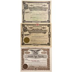 CO - Sugar Loaf,Boulder County - 1897-1938 - Boulder County Stock Certificate Group - Fenske Collect