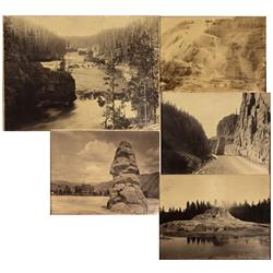 Dakota - c1884 - Yellowstone Photographs, Framed *Territorial*