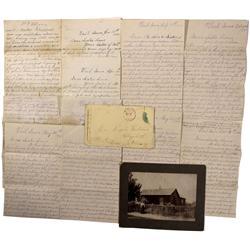 IA - 1870-1889 - Illinois, Iowa and Nebraska Farming Letters