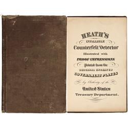 MA - Boston,Suffolk County - c1875 - Counterfeit Detector Booklet