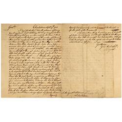 MA - Charlestown,Suffolk County - Sept 9 1751 - Slave Manuscript Document