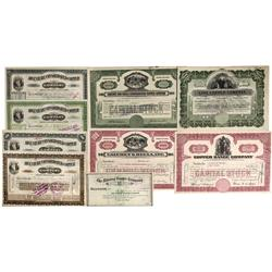 MI - 1899-1954 - Michigan Copper Company Stock Certificate