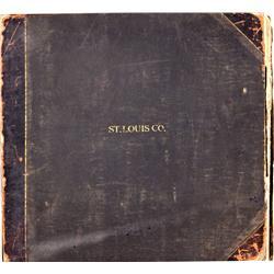 MN - 1880-1900 - Surveyor's Master Township Book