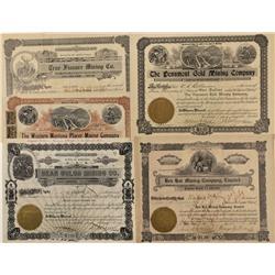 MT - 1900-1925 - Montana Stock Certificates - Fenske Collection