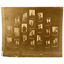 MT - Butte,Silver Bow County - 1902 - Great Falls Mining Staff Photograph