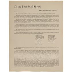 MT - Butte,Silver Bow County - June 28 1893 - Hand Bill