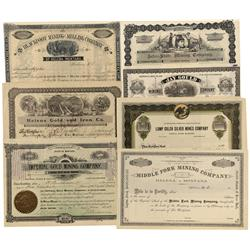 MT - Helena,Lewis & Clark County - Helena, Montana Area Stock Certificates - Fenske Collection