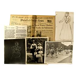 NJ - Plainfield,Union County - July 4, 1943 - Pageant Scrapbook