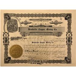 NM - Socorro County,1907 - Hembrillo Copper Mining Company Stock Certificate