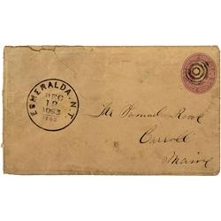 NV - Aurora County - 1863 - Cover *Territorial* - Clint Maish Collection