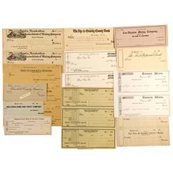 NV - Nevada Checks Collection - Gil Schmidtmann Collection