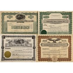 NV - c1930 - Nevada Mining Stock Certificates - Fenske Collection