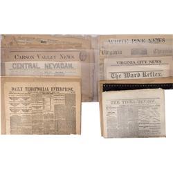 NV - 1865-1972 - Nevada Newspaper Grouping - Gil Schmidtmann Collection
