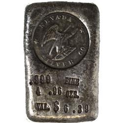 NV - Nevada Silver Co. Ingot