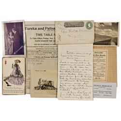 NV - Nevada, Northern Postal History and Ephemera