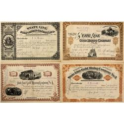 NV - Gold Mountain County - 1881 - State Line Collection