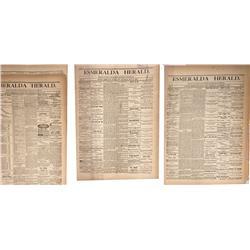 NV - Aurora,Esmeralda County - 1881 - Herald Newspapers - Gil Schmidtmann Collection