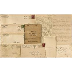 NV - Beatty,Nye County - c1930 - Judge Ray Correspondence